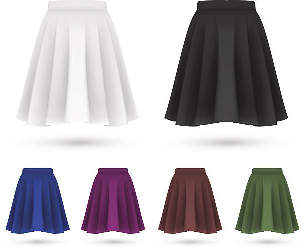 patrones faldas largas