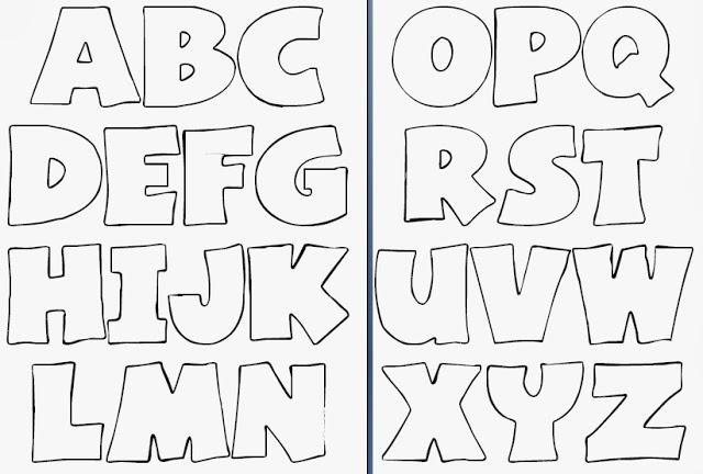 patrones letras para bordar