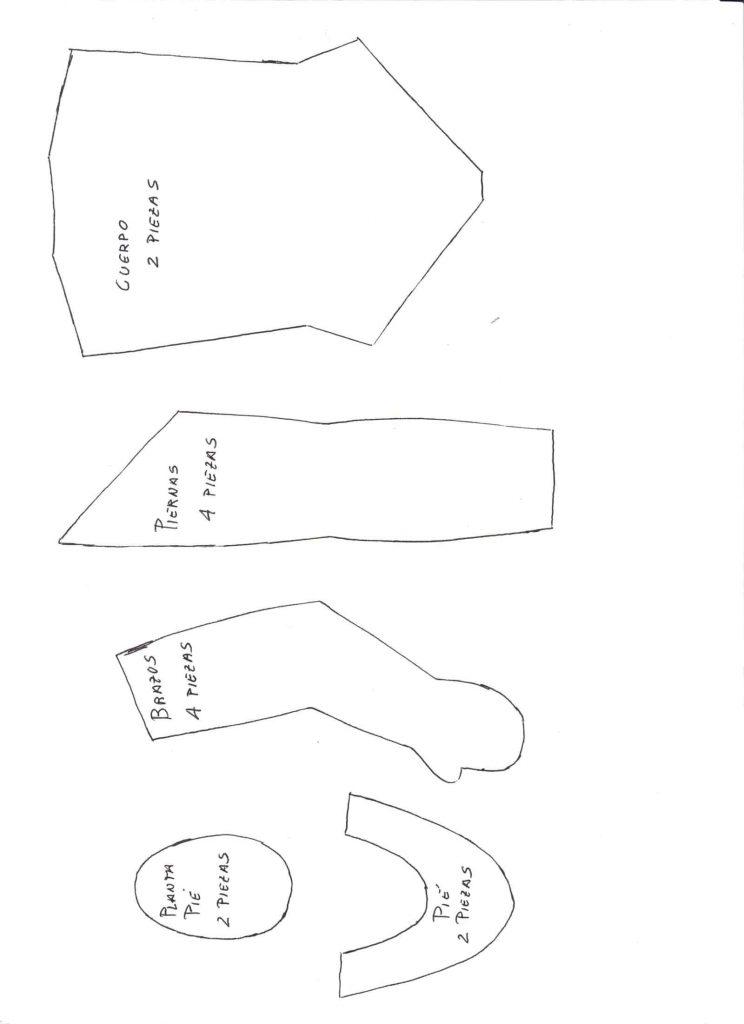 patrones de muñecas de trapo faciles