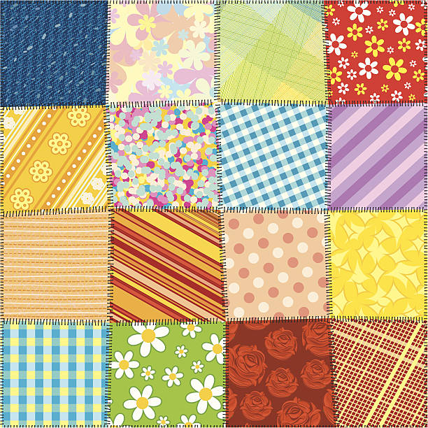 patrones patchwork jardin de la abuela