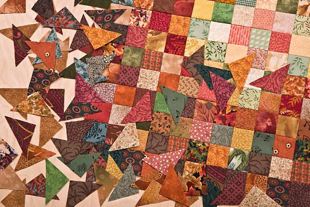 patrones patchwork mantas