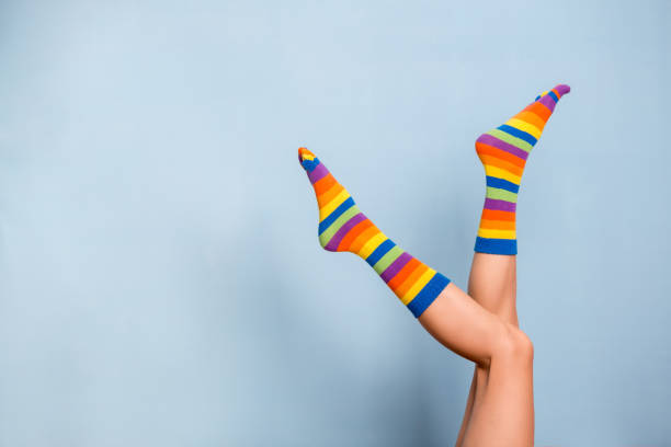 patrones calcetines de navidad