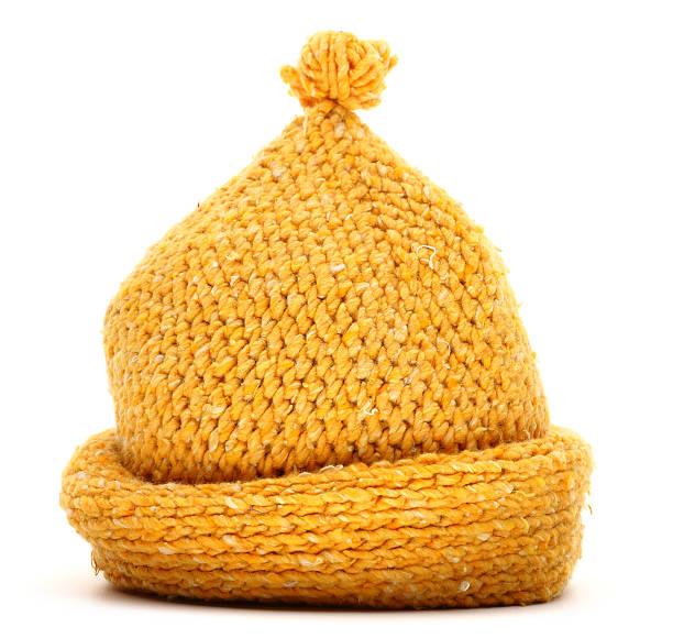 patrones gorros de lana dos agujas
