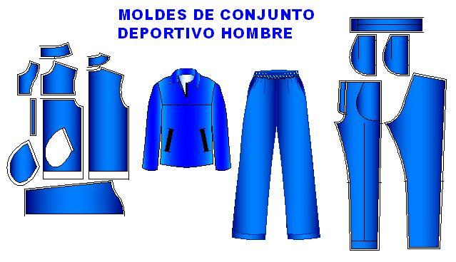 patrones de ropa deportiva para hombres pdf