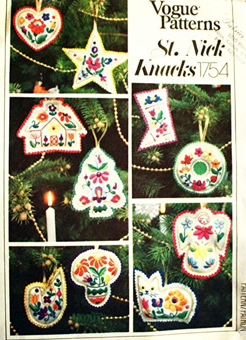 patrones adornos navideños