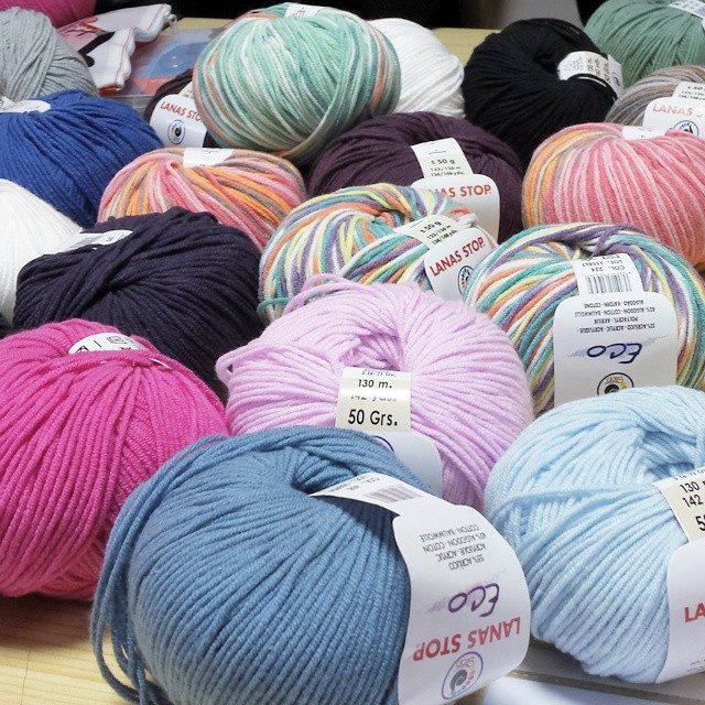 lanas y patrones