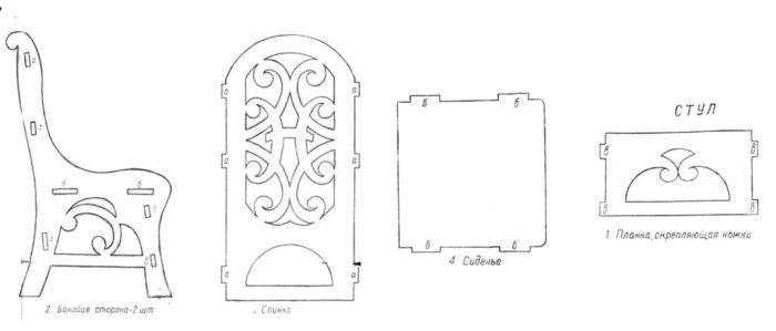 patrones de muebles de madera