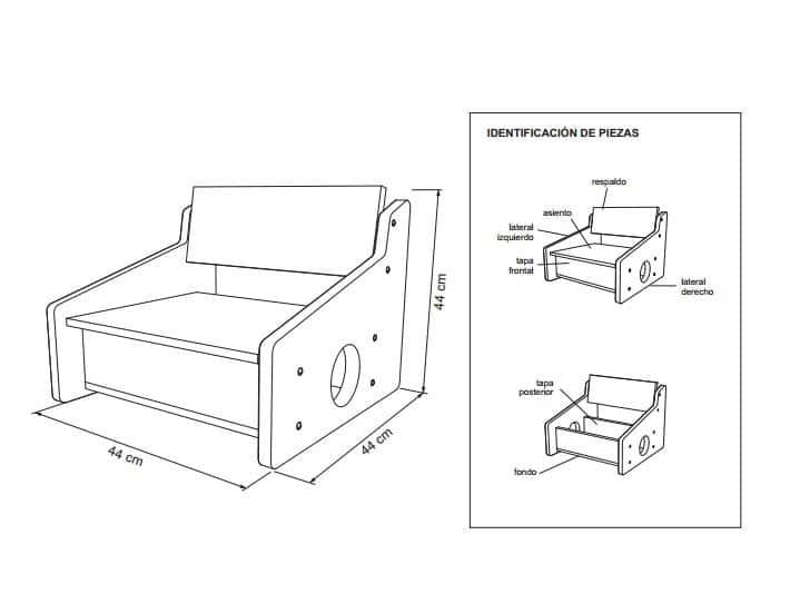 patrones para muebles de madera