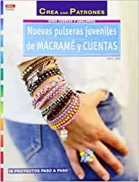 patrones de pulseras de hilo macrame